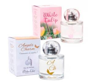Perfumes y Eau de Toilette.