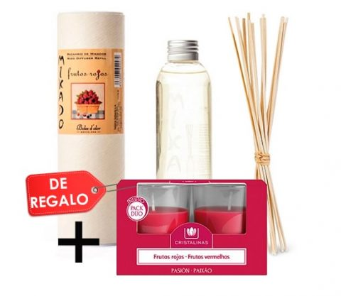 PACK 019 RECAMBIO 200ML.+DUO VELAS (GRATIS)