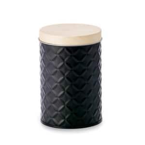 Lata-Mason-black-190-g-redonda-con-efecto-3D-H-129-cm-O-86-cm