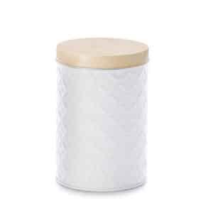 Lata-Mason-white-190-g-redonda-con-efecto-3D-H-129-cm-O-86-cm.