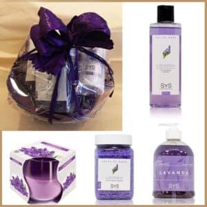 cesta-regalo-aromatica-lavanda-cosmetic-candel