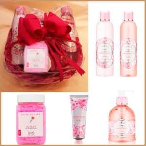 cesta-regalo-flor-naranjo-garden-roses