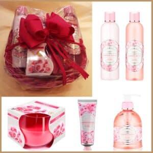 cesta-regalo-flor-naranjo-garden-roses-candel